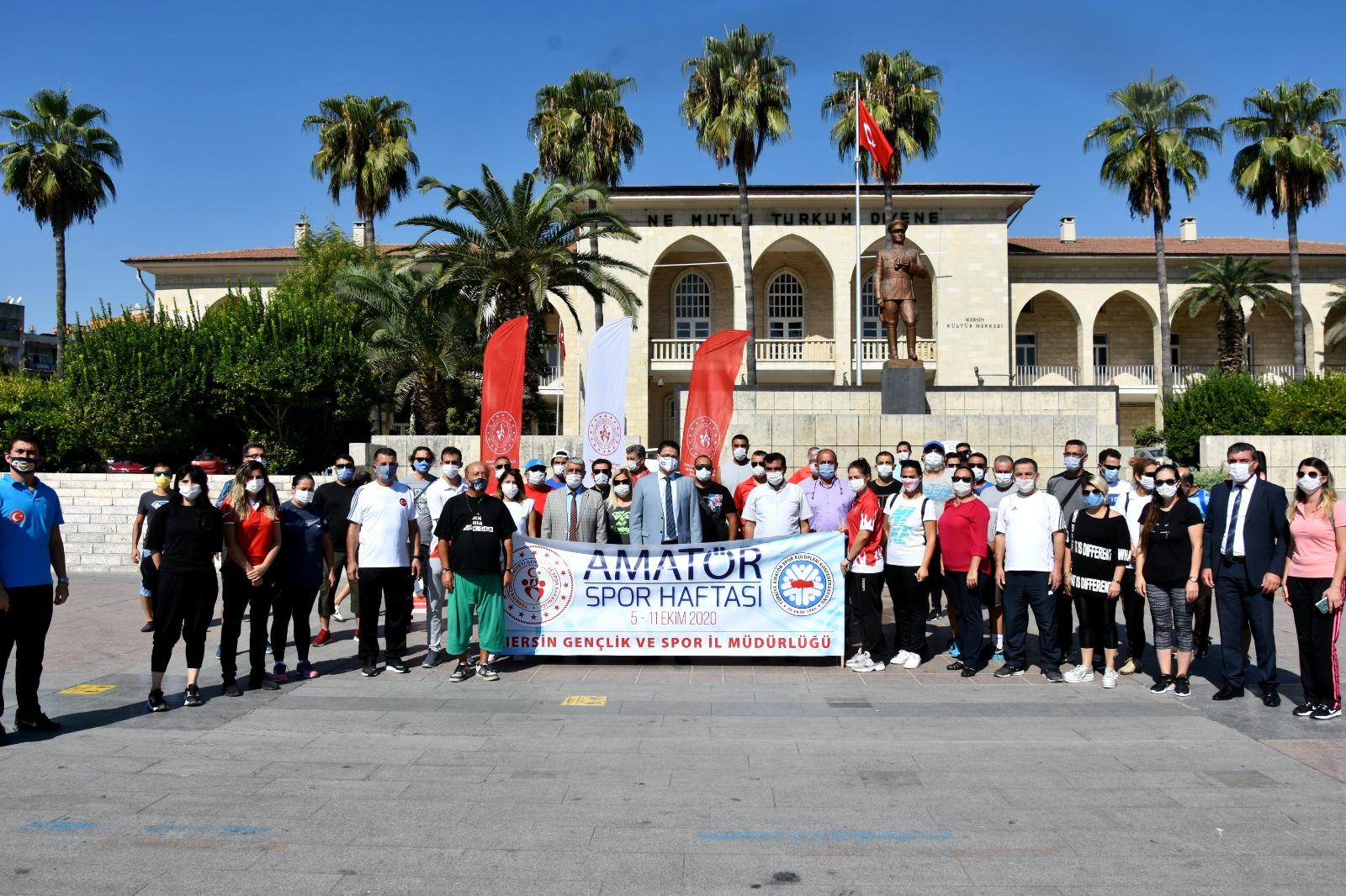 Amatör Spor Haftası Mersin'de başladı
