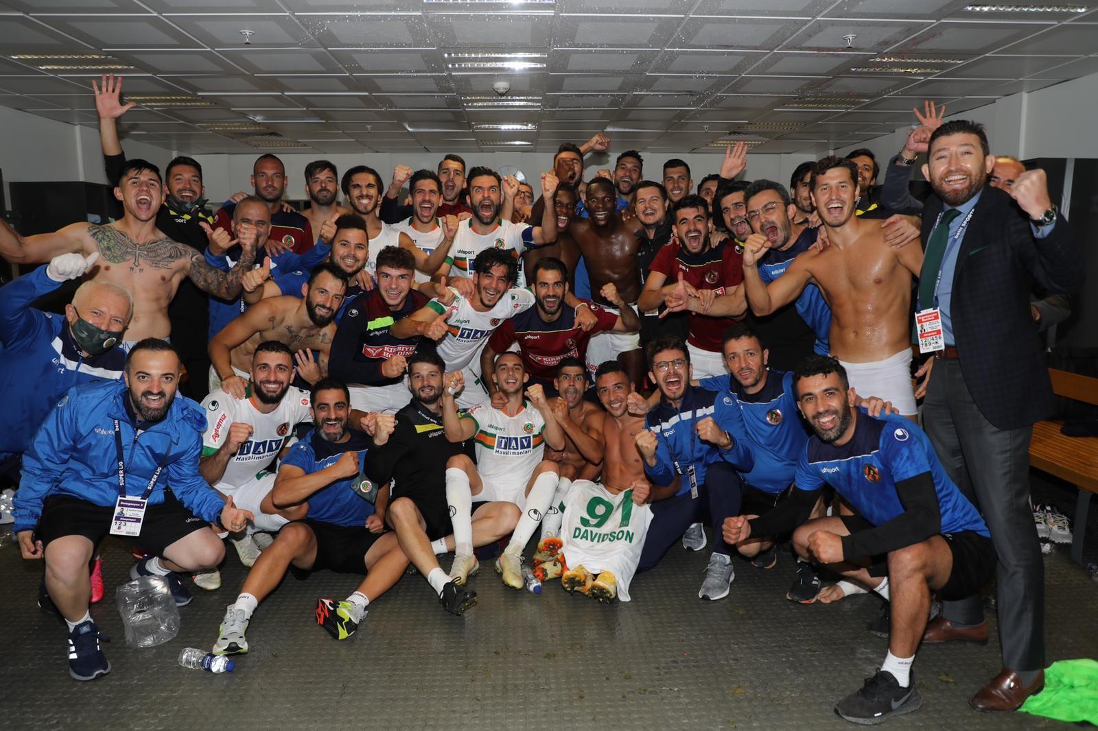 Süper ligin en çok gol atan takımı Alanyaspor