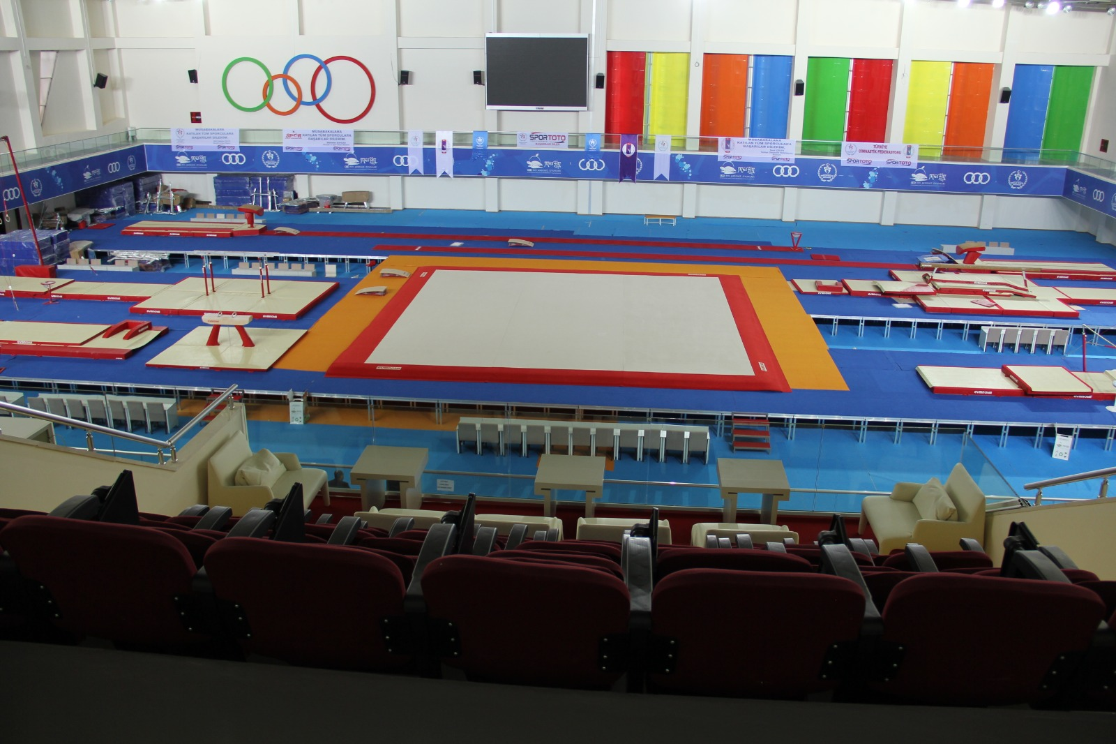 Avrupa Artistik Cimnastik Şampiyonası Mersin'de