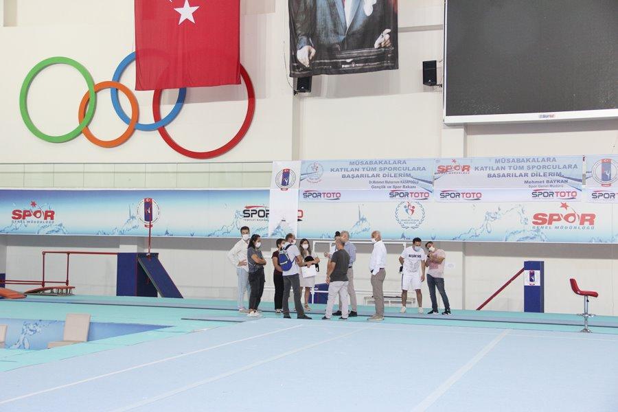 Avrupa Artistik Cimnastik Şampiyonası hazırlıkları başladı