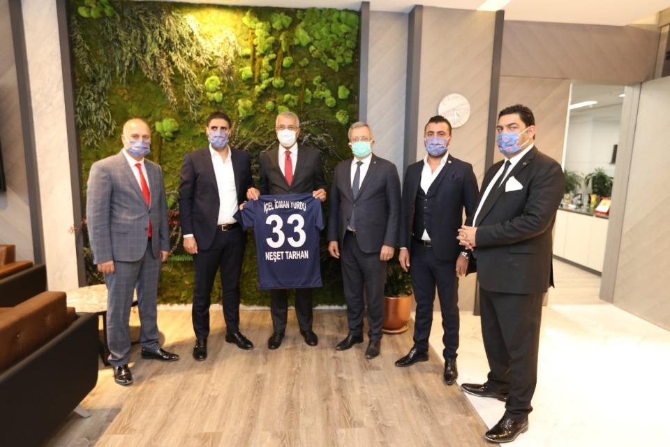 Başkan Tarhan'dan İçel İdman Yurdu'na destek