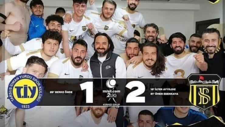 Tarsus, Bayburt'a teslim oldu: 1-2
