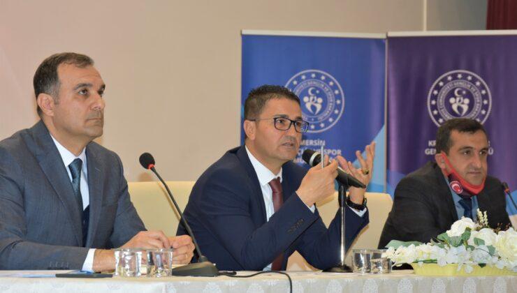 Gençleri Türk Sporuna kazandırmak istiyoruz