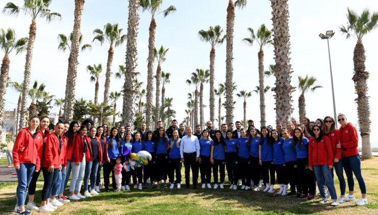 Başkan Seçer'den sporculara moral etkinliği