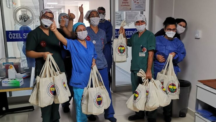 Fenerbahçeliler'den Onkoloji Hastanesine destek