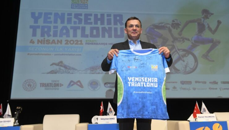Yenişehir Triatlonu yarın gerçekleştirilecek