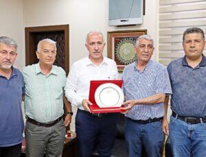 ASKF'den Başkan Gültak'a ziyaret