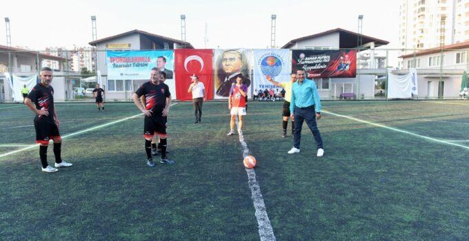 Yenişehir'de Bahar Turnuvası başladı
