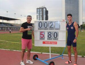 Mersin'in Milli gururu Olimpiyat kotası aldı