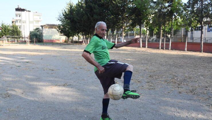 Teselliyi futbolda buldu