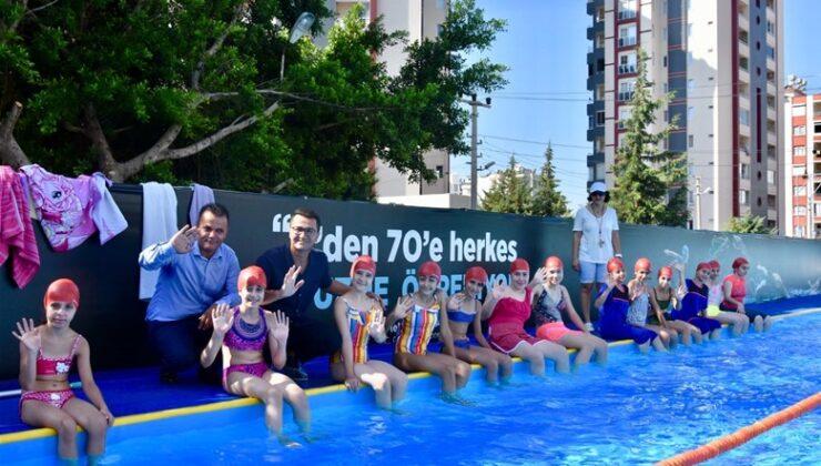 Mersin'de yüzme bilmeyen kalmayacak!