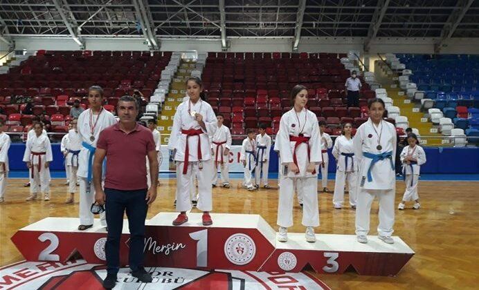Yıldızlar karate Mersin il birinciliği sona erdi