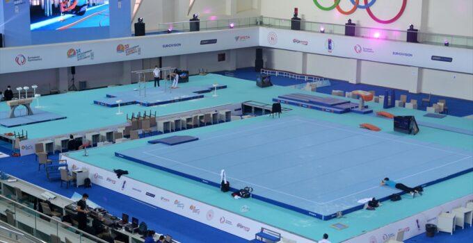 Cimnastik Dünya Kupası Mersin'de