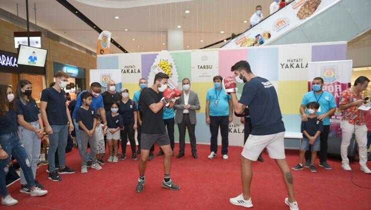 Geleceğin şampiyonları Tarsus'ta yetişiyor