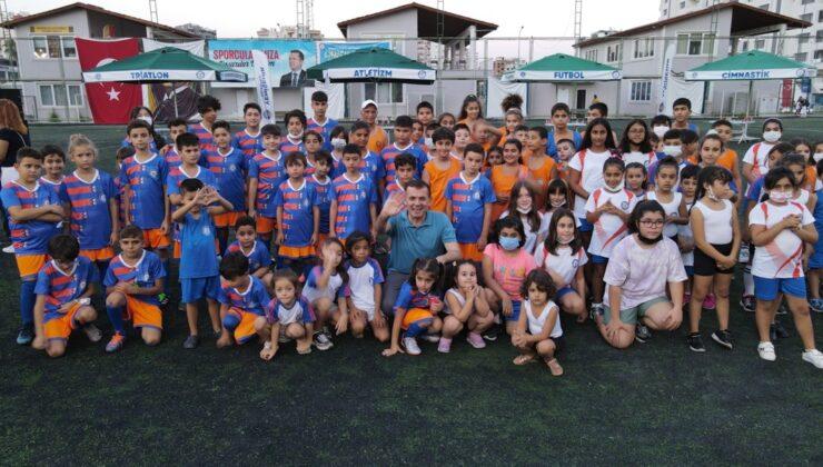 Yenişehir'de geleceğin sporcuları yetişecek