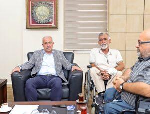 Başkan Gültak'tan engelli sporculara destek sözü