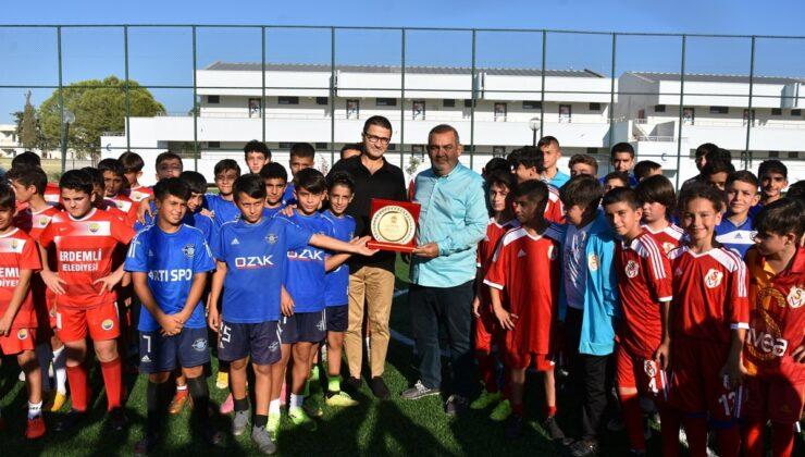 Mersin'de futbol kültürü var