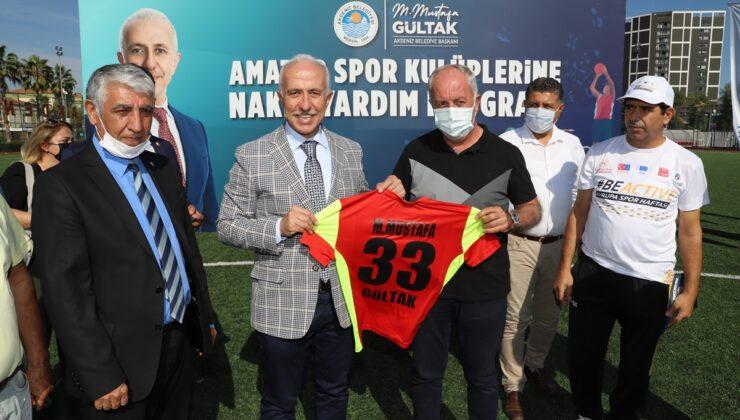 Akdeniz'den Amatör Spor Kulüplerine can suyu
